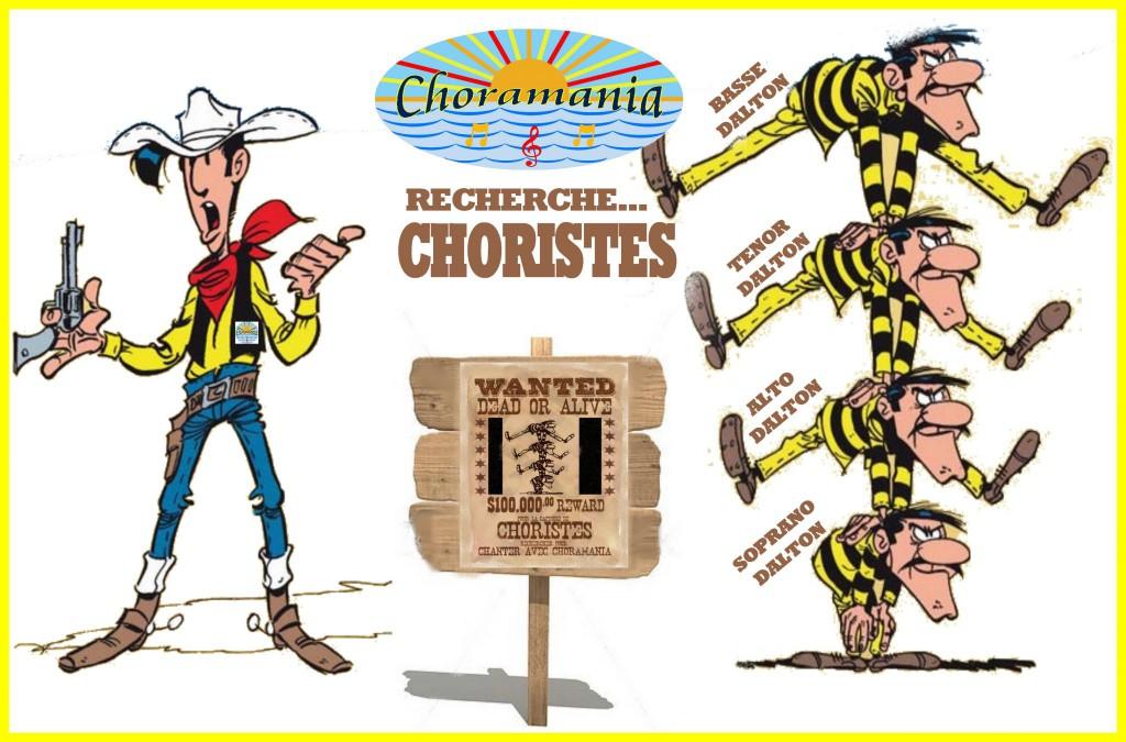 CHORAMANIA recrute choristes