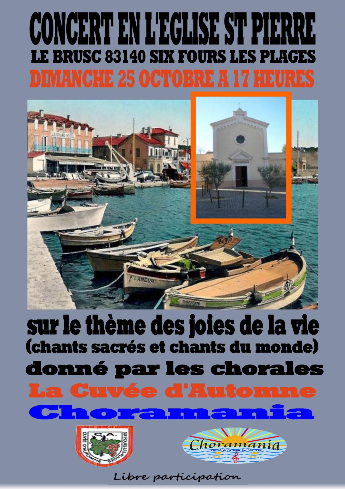 20151025 Affiche du Concert du 25 octobre 2015