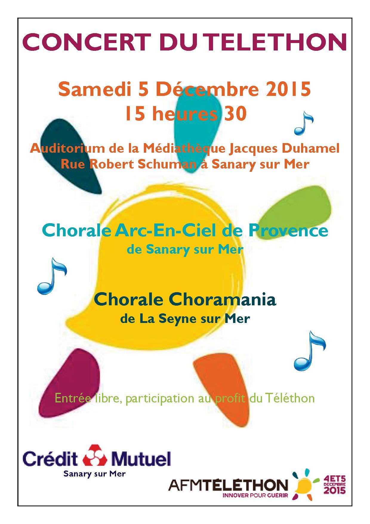 20151205 Affiche du concert du 5 décembre 2015