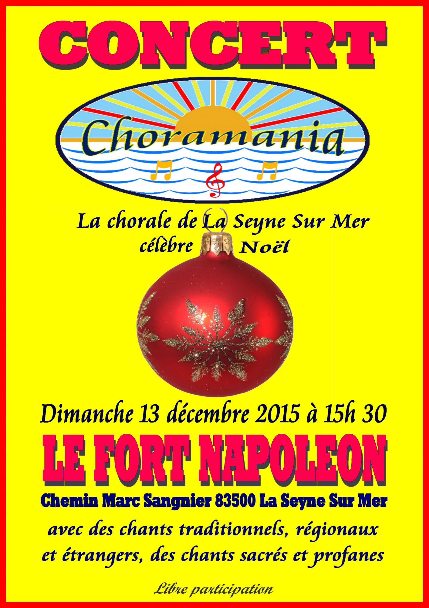 20151213 Affiche du concert du 13 décembre 2015
