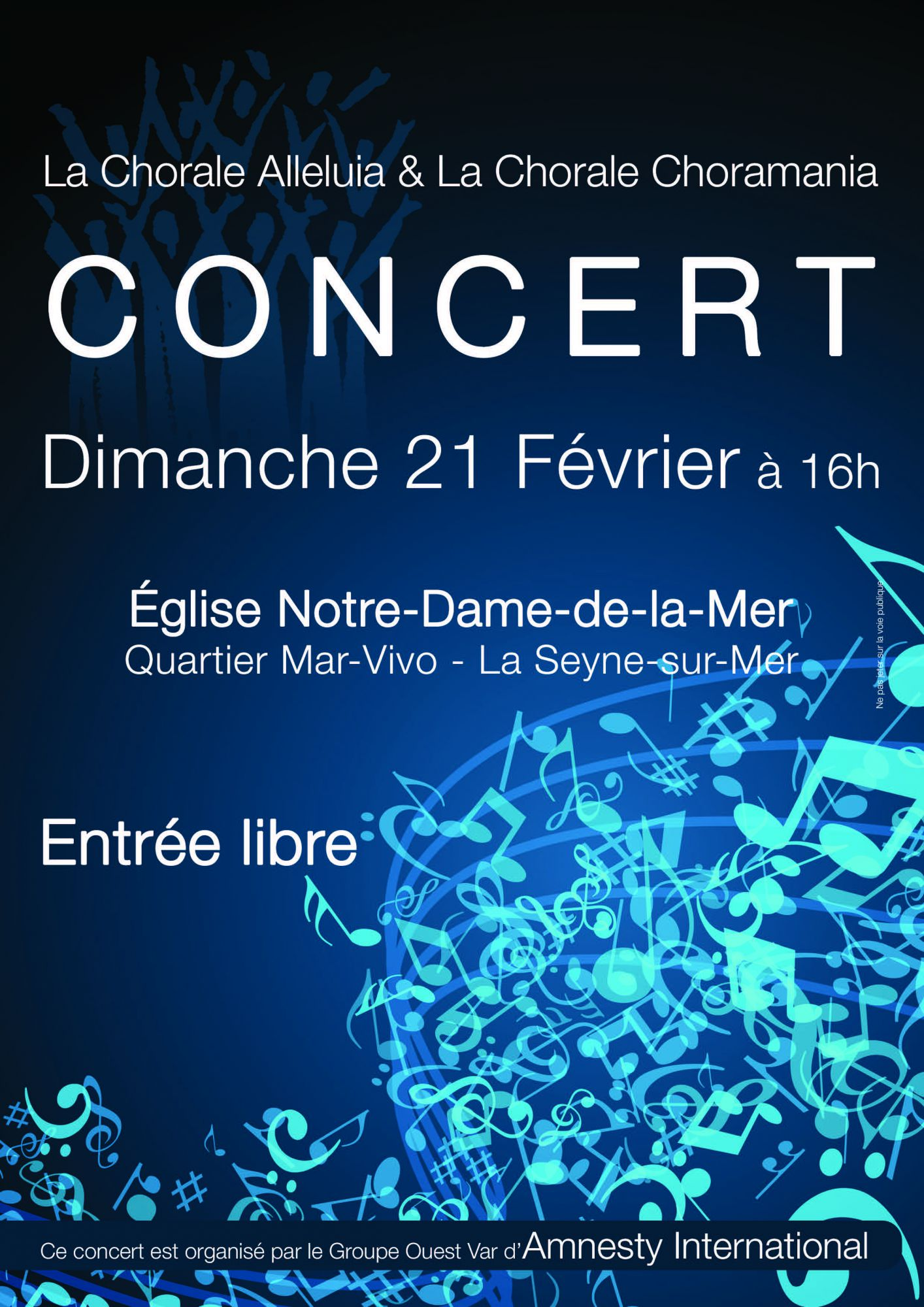 Affiche Concert du 21 février 2016